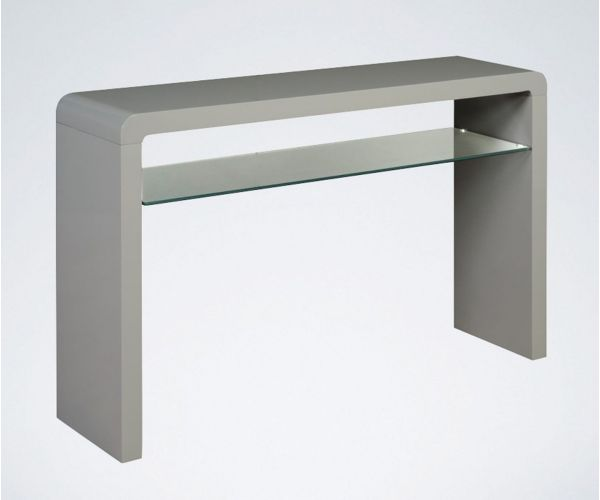 Annaghmore Clarus Grey Large Console Table