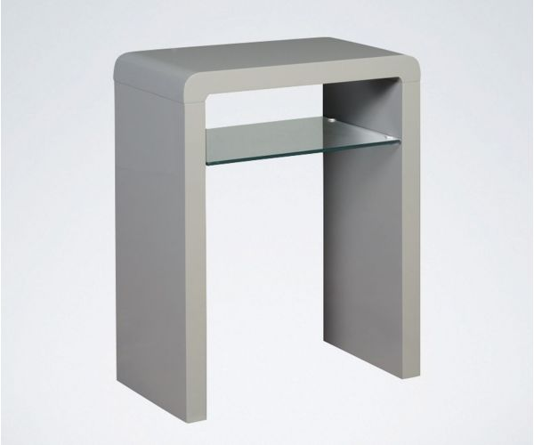 Annaghmore Clarus Grey Small Console Table