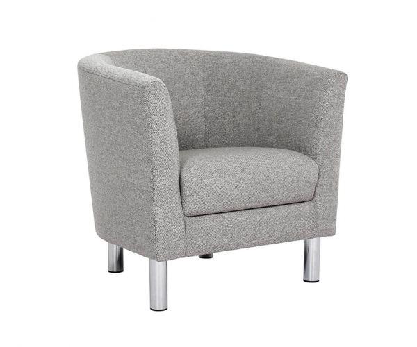 FTG Cleveland Nova Light Grey Armchair