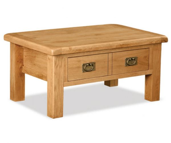 Global Home Salisbury Coffee Table with Drawer