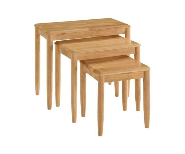 Annaghmore Cologne Light Oak Nest of Tables