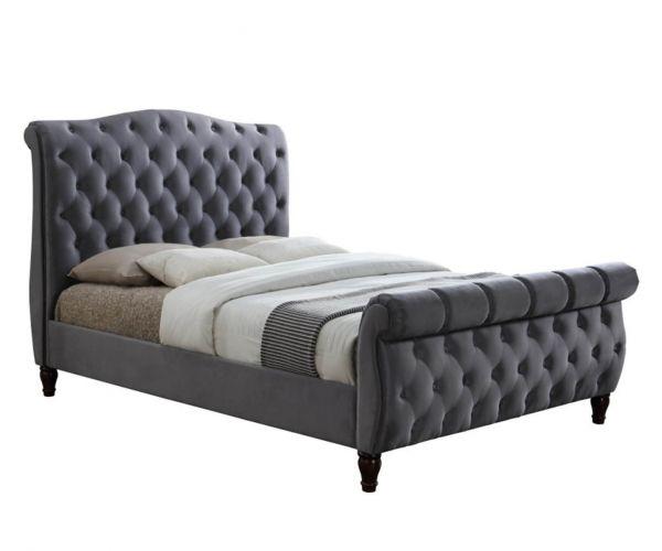 Birlea Furniture Colorado Grey Fabric Bed Frame