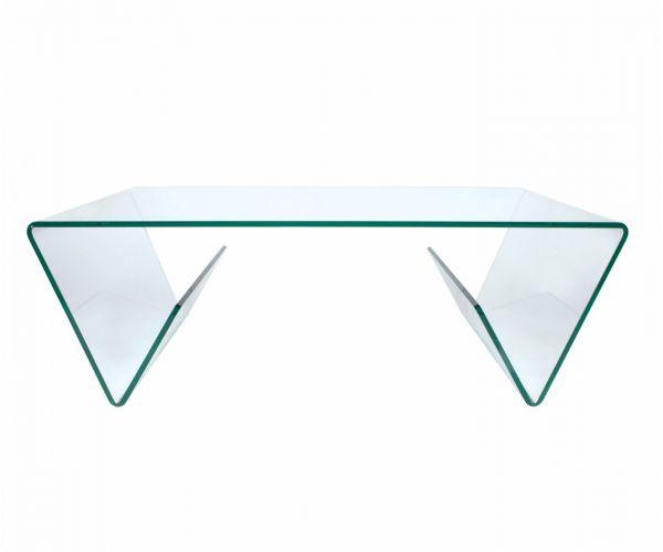 Greenapple Furniture Combi Clear Glass Coffee Table