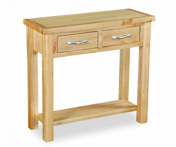 Global Home New Trinity Oak Console Table
