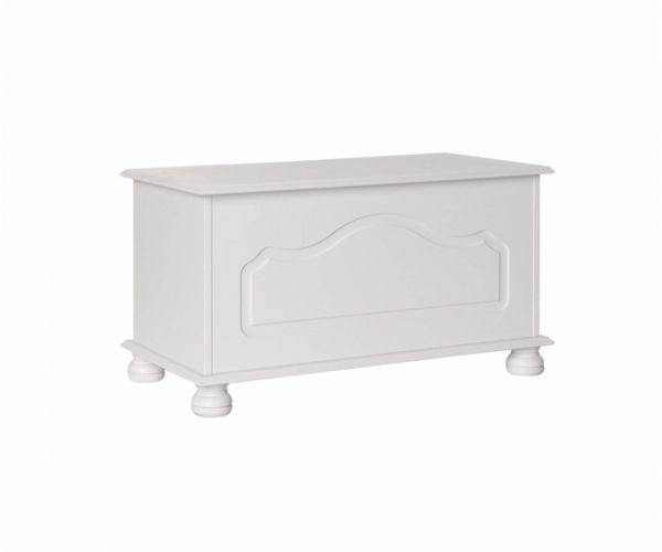 FTG Copenhagen White Blanket Box
