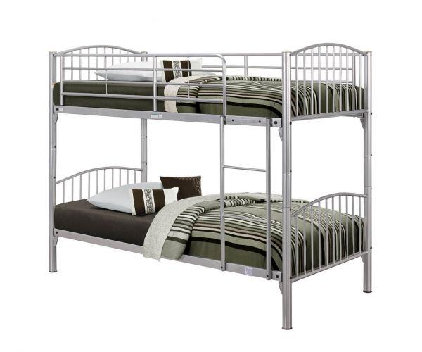 Birlea Furniture Corfu Silver Bunk Bed