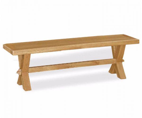 Corndell Fairford Cross Leg Bench