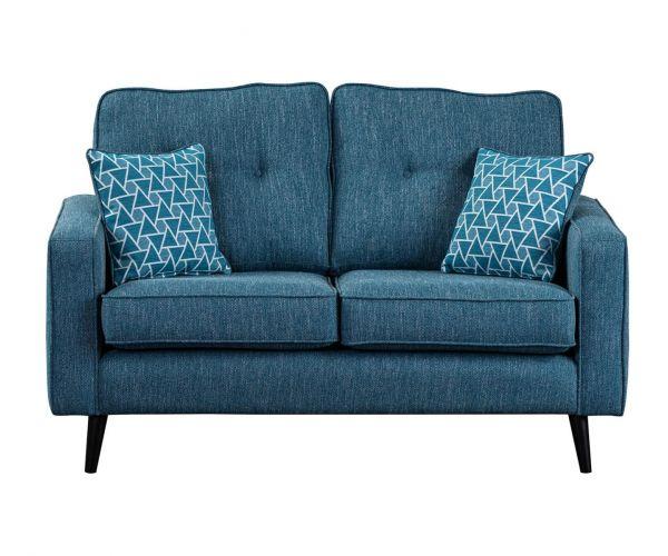 Sweet Dreams Cortona Aegean Fabric 2 Seater Sofa