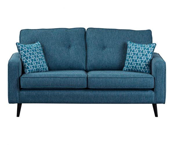 Sweet Dreams Cortona Aegean Fabric 3 Seater Sofa