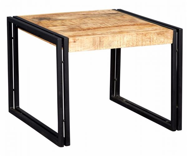 Indian Hub Cosmo Industrial Small Coffee Table