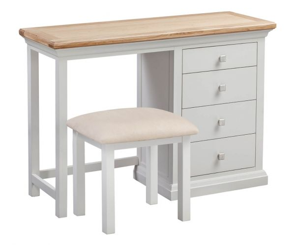Homestyle GB Cotswold Painted Dressing Table and Stool