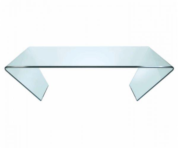 Greenapple Furniture Curvo Rectangular Glass Coffee Table