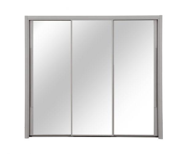 Gami Cyrus Light Grey Oak 3 Door Sliding Wardrobe