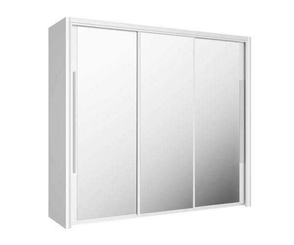 Gami Cyrus White 3 Door Sliding Wardrobe