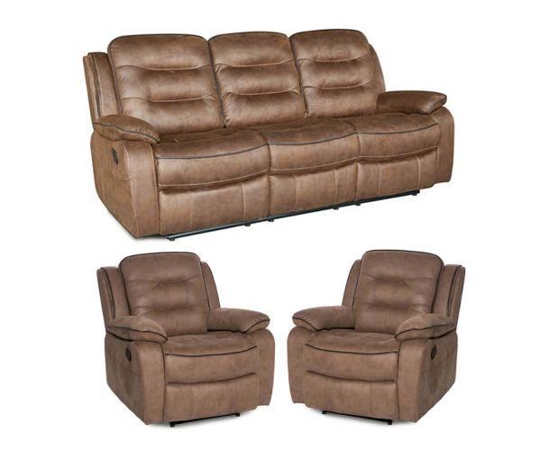 Furniture Line Dakota 3RR+R+R Sofa Set