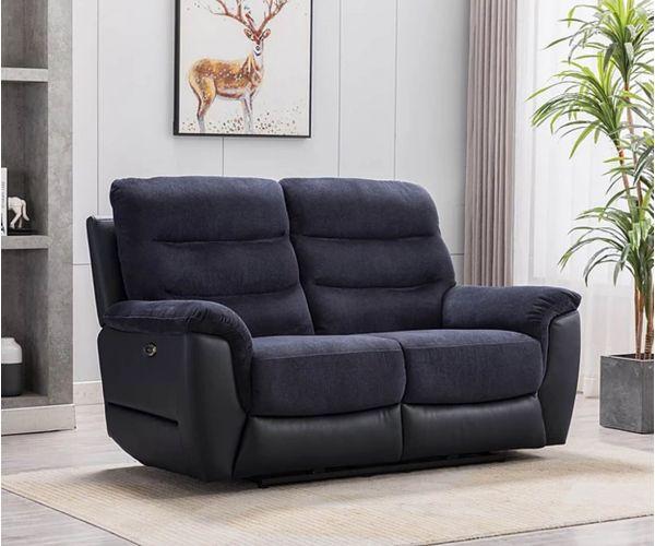 GFA Dallas Ash Fabric 2 Seater Sofa