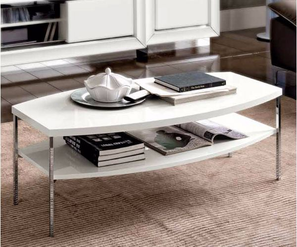 Camel Group Dama Binaca White High Gloss Coffee Table