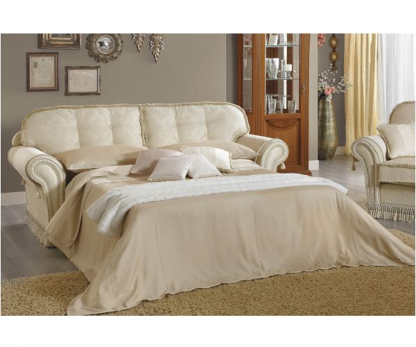 Camel Group Decor Fabric 2 Seater Sofa Bed