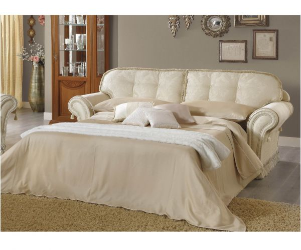 Camel Group Decor Fabric 3 Seater Sofa Bed