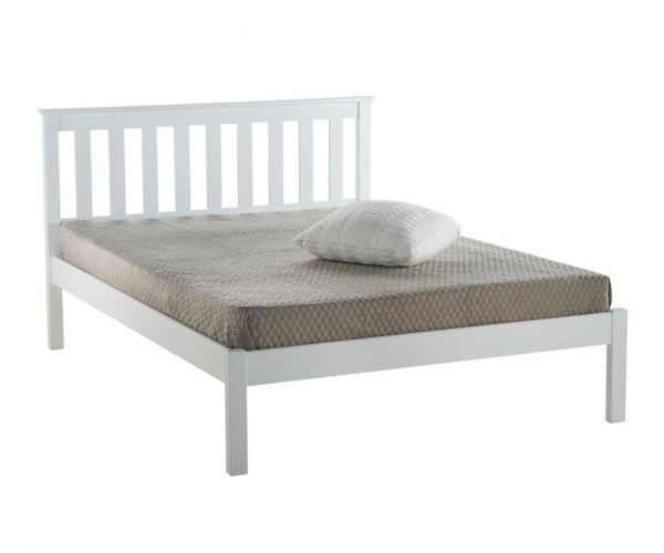 Birlea Furniture Denver White Low Footend Bed Frame