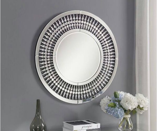 Derrys Furniture Jac Black Wall Mirror