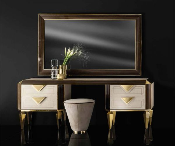 Adora Diamante Italian Dressing Table