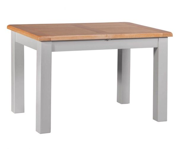 Homestyle GB Diamond Painted Small Extending Table Only