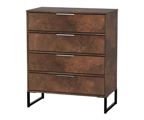 Welcome Furniture Diego Copper Finish 4 Drawer Chest