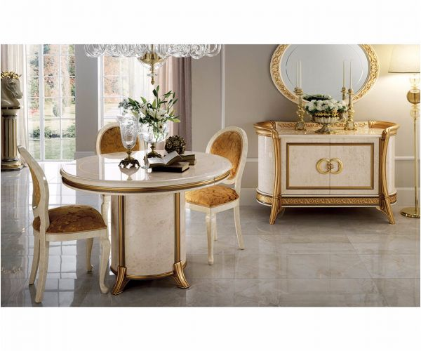 Arredoclassic Melodia Italian Round Extension Dining Table