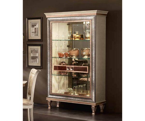 Arredoclassic Dolce Vita Italian 2 Door Display Cabinet