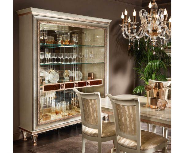 Arredoclassic Dolce Vita Italian 3 Door Display Cabinet