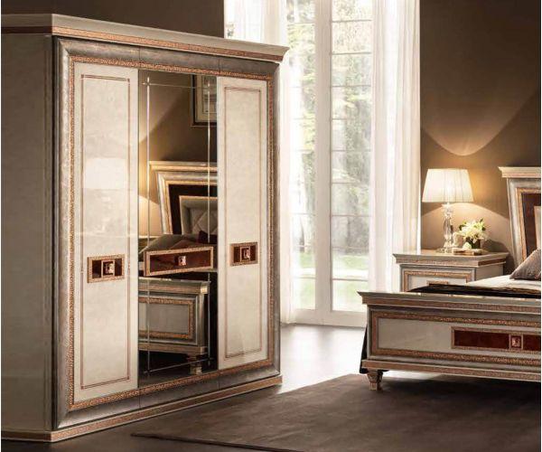 Arredoclassic Dolce Vita Italian 3 Door Wardrobe