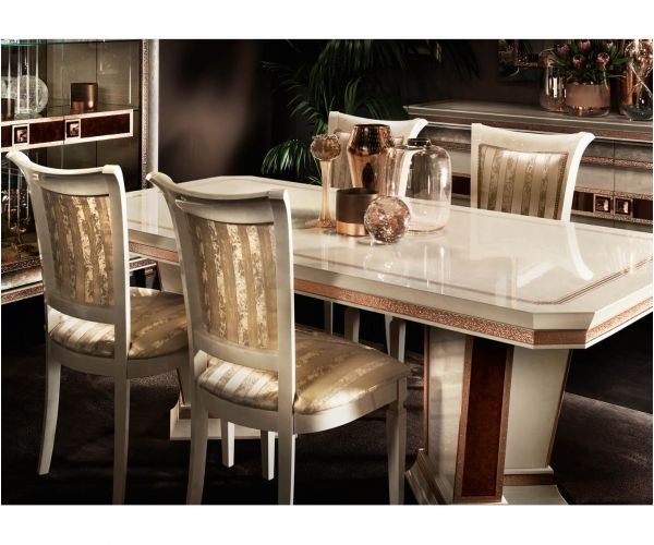 Arredoclassic Dolce Vita Italian Rectangular Extension Dining Table