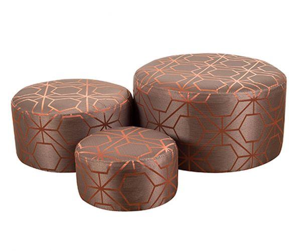 Buoyant Upholstery Dollie Fabric Footstool