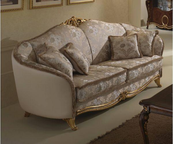 Arredoclassic Donatello Italian 3 Seater Sofa