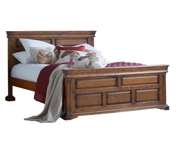 Furniture Link Downton Wooden Bed Frame