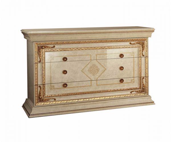 Arredoclassic Leonardo Italian 3 Drawer Dresser