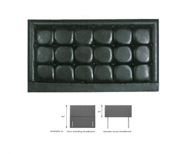 Dura Beds Geneva Fabric Headboard