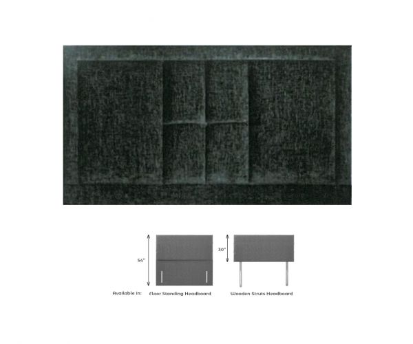Dura Beds Isabela Fabric Headboard