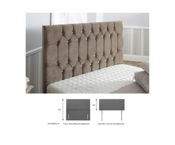 Dura Beds Seville Fabric Headboard