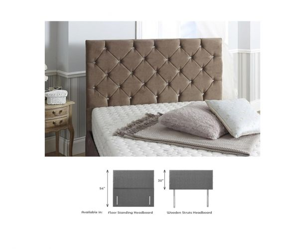 Dura Beds Sierra Fabric Headboard