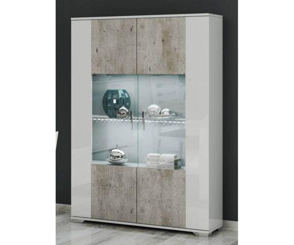 SM Italia Doyline 2 Door Display Cabinet