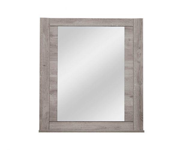 Gami Eden Light Oak Wall Mirror