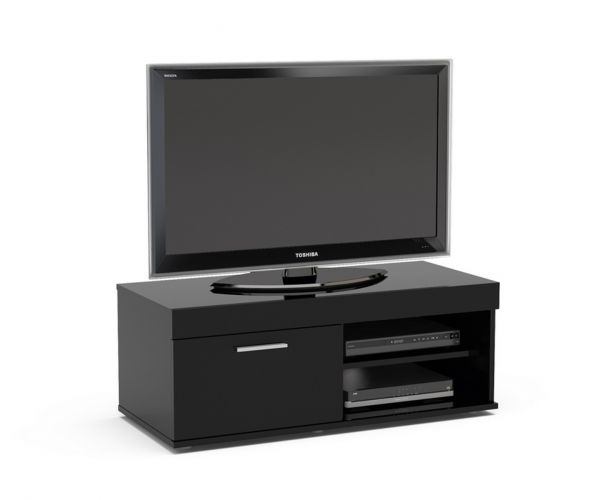 Birlea Furniture Edgeware Black Small TV Unit