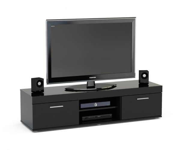 Birlea Furniture Edgeware Black TV Unit