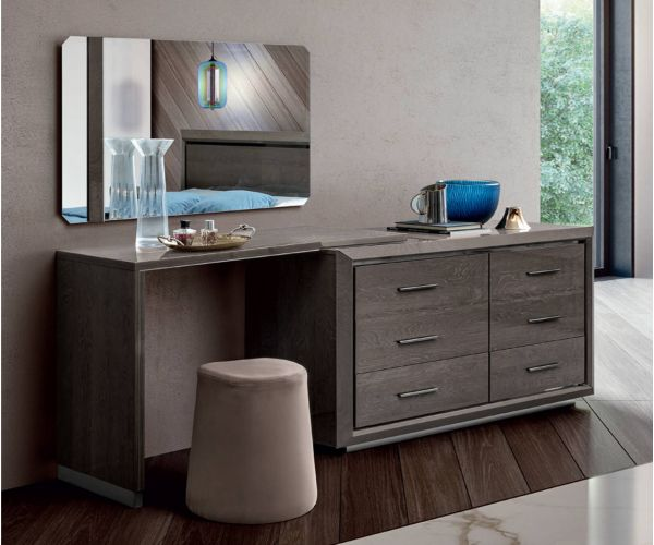 Camel Group Elite Silver Birch Double Dresser with Toilette L