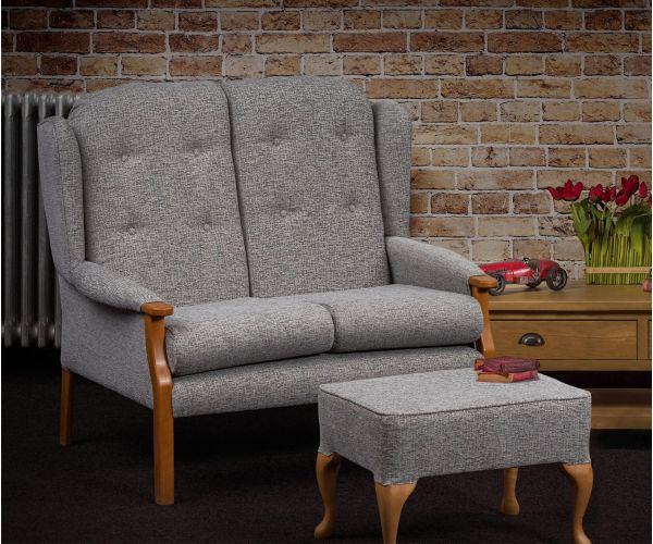 Sweet Dreams Elm Fabric 2 Seater Sofa