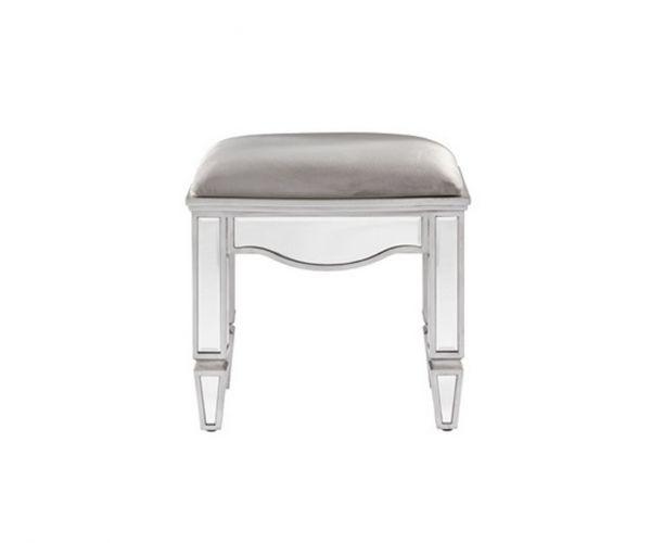 Birlea Furniture Elysee Mirrored Glass Dressing Table Stool