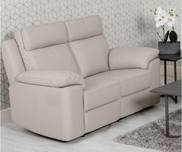 Furniture Line Enzo Fixed 2 Seater Leather Sofa