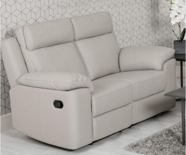 Furniture Line Enzo Leather Recliner 2 Seater Sofa